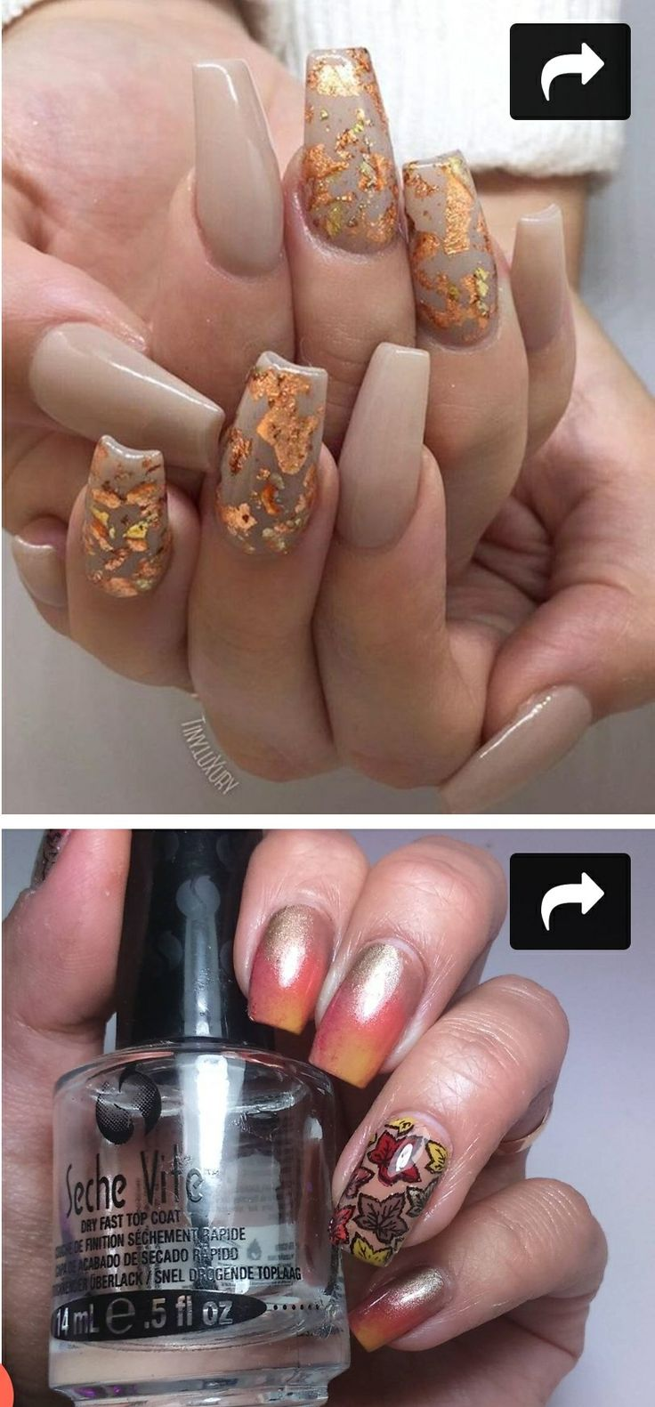 267 besten fall/halloween nails Bilder auf Pinterest | Make up ...