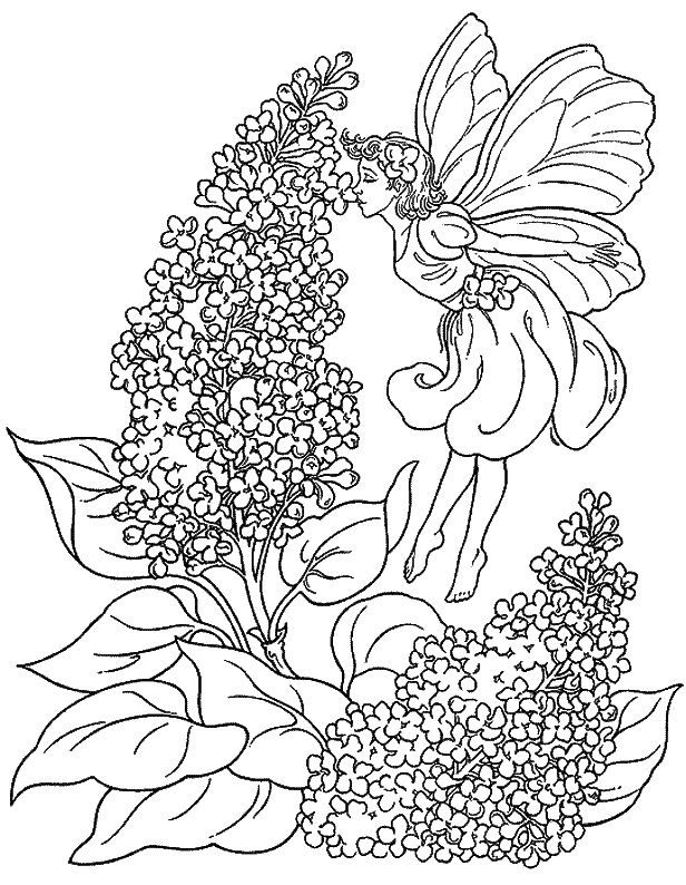 Fantasy Coloring Pages 27