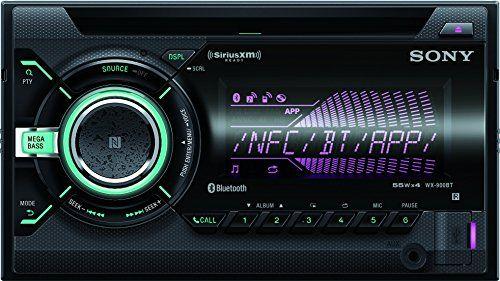 Sony WX900BT CD Receiver with Bluetooth (Black) - http://www.caraccessoriesonlinemarket.com/sony-wx900bt-cd-receiver-with-bluetooth-black/  #Black, #Bluetooth, #Receiver, #Sony, #WX900BT #Car-Stereos, #Electronics
