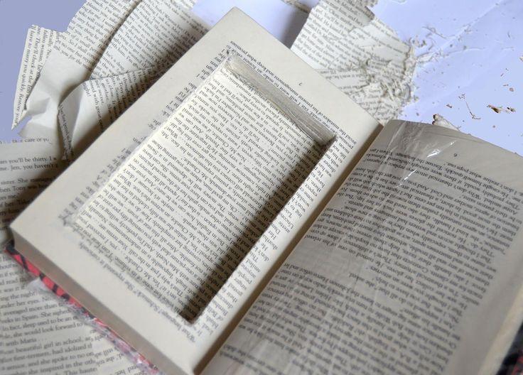 Vivid Please: DIY: How To Make A Hollow 'Secret Stash' Book