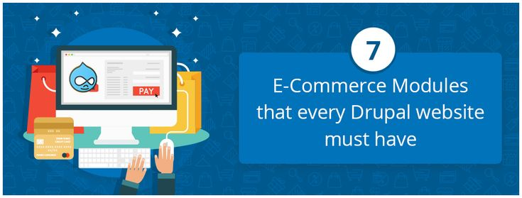 7 E-Commerce Modules that Every Drupal Website Must Have.Every eCommerce shop using Drupal would benefit immensely with these essential e-commerce modules. Now let's discuss each of the modules in particular and see why it is so great.  #ecommerce #webdevelopment #entrepreneur #Drupal #development