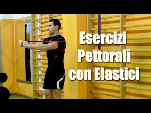 Esercizi Pettorali in Casa con Elastici - Personal Trainer