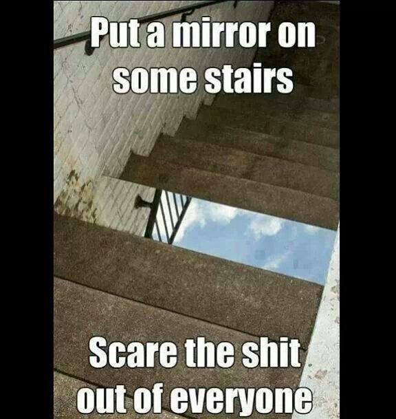 #jokes #pranks #mirror I would love to do that!! lol