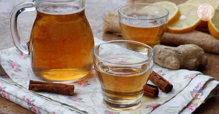 La tisana zenzero limone e cannella per accelerare il metabolismo e dimagrire più in fretta, ha effetto drenante, aiuta in caso di raffreddore.