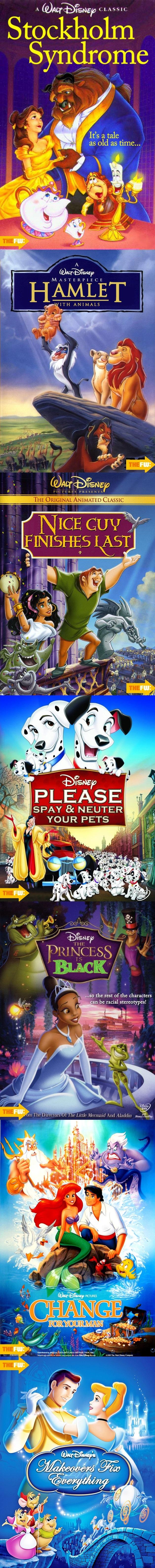 Alternate Disney Film Titles