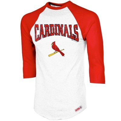 Women's Arizona Cardinals '47 Cardinal Home Run Scoop Long Sleeve T-Shirt