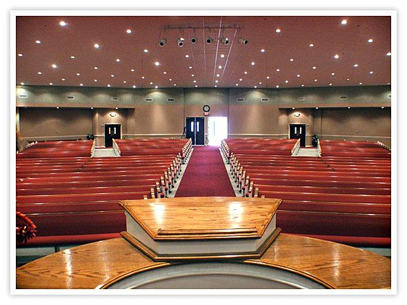 Church sanctuary design interiors for Church interior design ideas