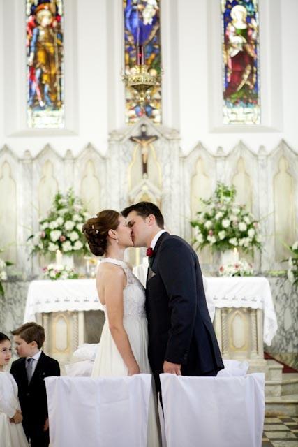 You may kiss the bride...
