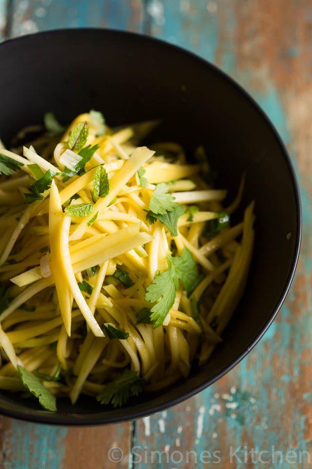 Mango salade | simoneskitchen.nl
