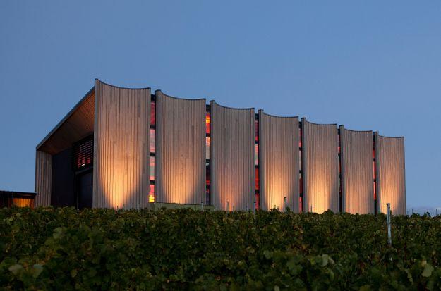 Moorilla Vineyard #winearchitecture #australia #tasmania #winery