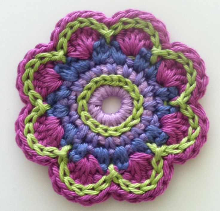 Flower Number 2, Love these colours!