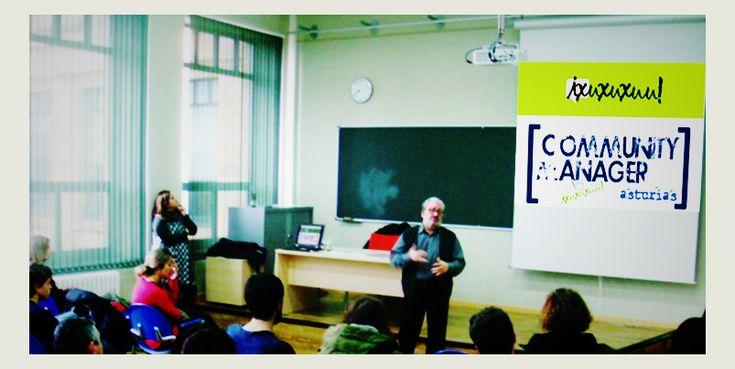 Charla para el Ciclo Formativo de Informática y Comunicación y Administración y Gestión del CIFP LA LABORAL en Gijón, sobre la tarea del emprendimiento