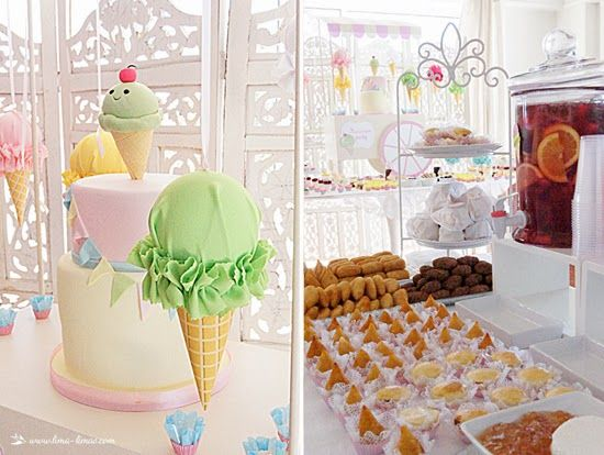 details for this ice-cream party