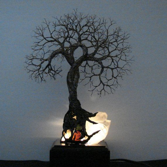Brazil Quartz Crystal Tree Of Life Soul Mate by CrowsFeathers, $178.00