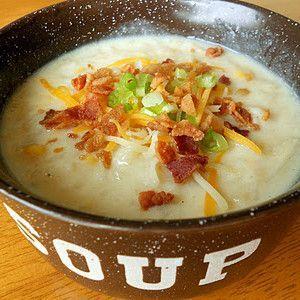 Disneyland's Loaded Potato Soup Copycat