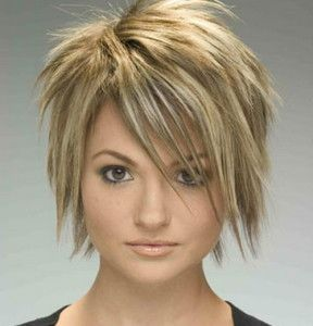 Layered Hairstyles for Short Hair Images