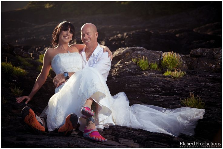 Port Renfrew Elopement and Trash The Dress - Justin + Charlotte (Vancouver Island Wedding Photography)