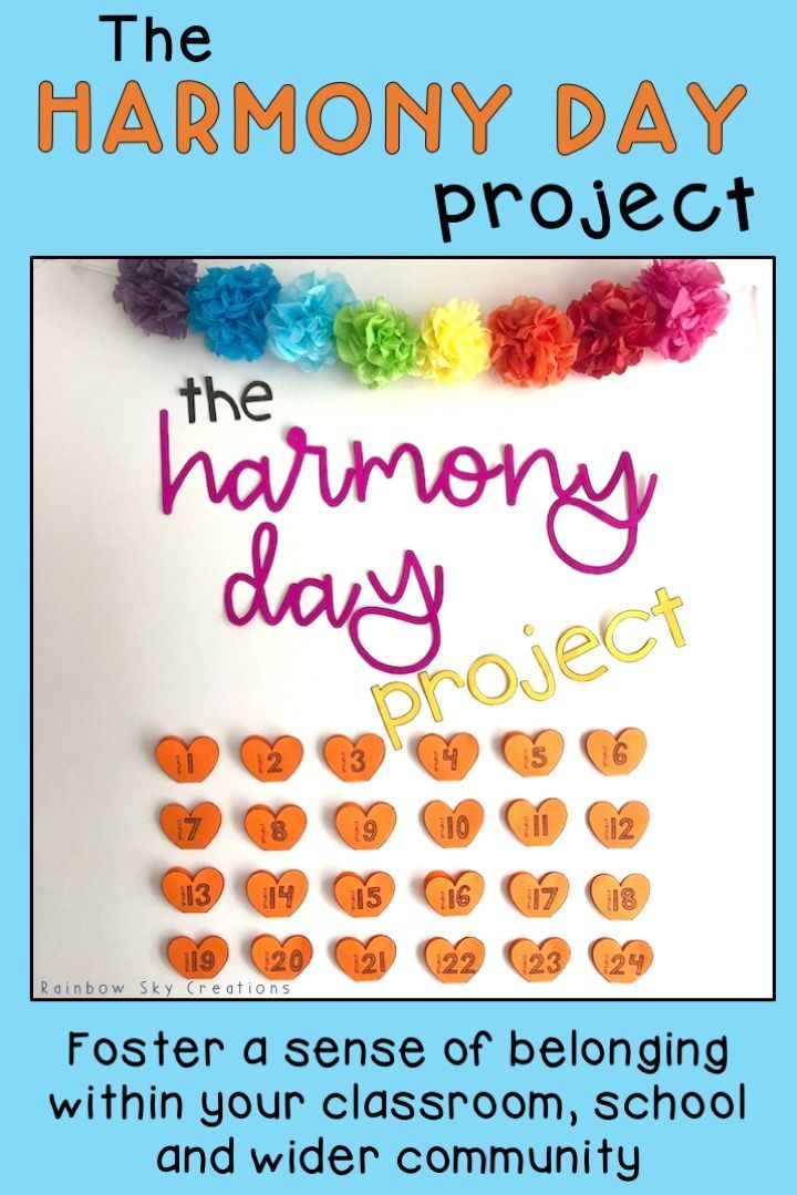 Check out this Harmony Day research & activities for kids to teach them about cultural diversity & tolerance in Australia. The inspiration of 'everyone belongs' is foundational in this student centred resource. Use printables to create a beautiful classroom display to honour Harmony Week. A great alternative to crafts or worksheets. Click the link to see further details {Year 3, Year 4, Year 5, Year 6, Grade 3, homeschool, International Day for the Elimination of Racial Discrimination}