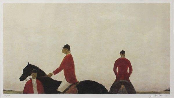 Jean-Paul LEMIEUX (1904-1990), Les jeux hippiques, 19xx
