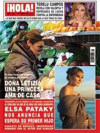 letizia revista hola | Esta semana, las páginas de la revista ¡HOLA! nos muestran unas ...