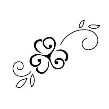 Clover Tattoo - sister tattoo idea... Three leaves for three sisters :) (If I ever decide to get a tattoo that is)