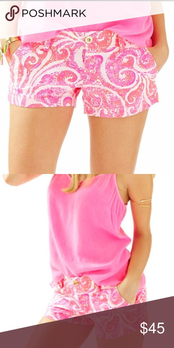 Lilly Pulitzer Walsh Short It'll be your go-to shorty short. Pop print for summery days. Lilly Pulitzer Shorts Bermudas