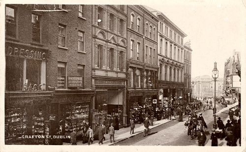 Grafton Street - view to north. Named after the second Duke of Grafton, this…