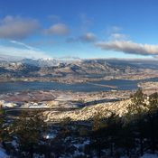 Panorama Anarchist View Point ... Osoyoos, BC, Canada ... by Craig Johnson