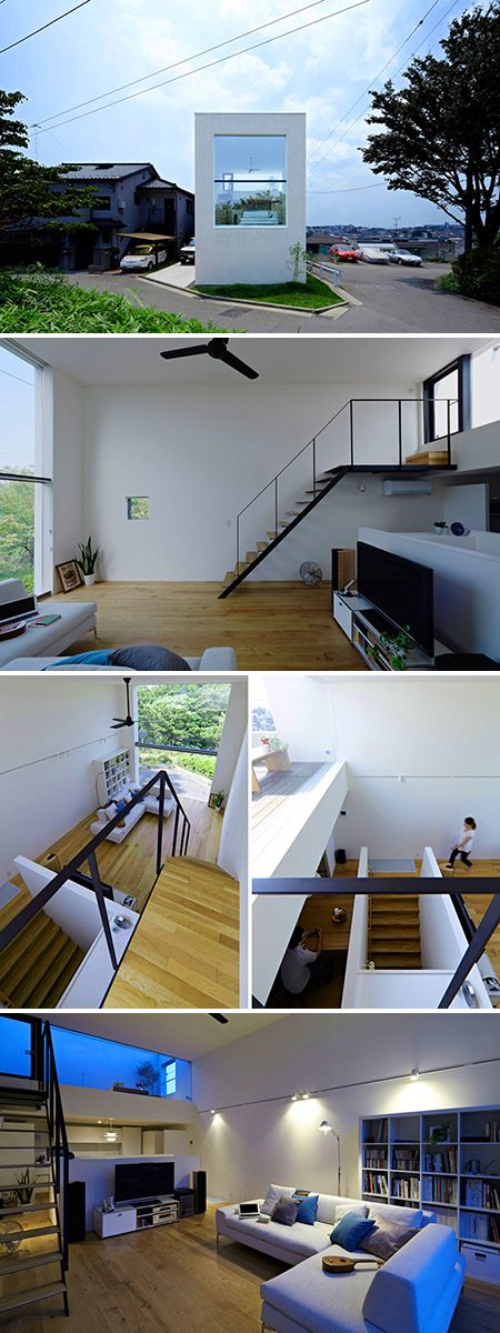 minimalist-home-japan *Love the small footprint, but wide open space.