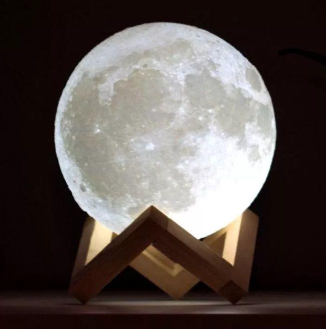 Galaktische Mond Lampe V 2020 G Lampa Nastolnaya Lampa Nochnik