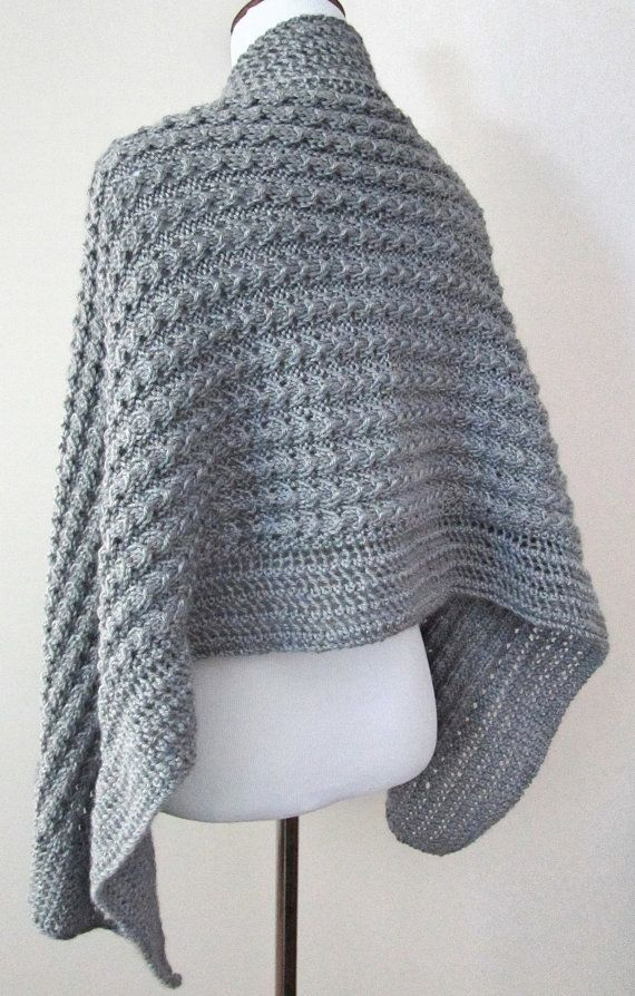 Lacy Shawl Knitting Pattern PDF by chezpascale on Etsy