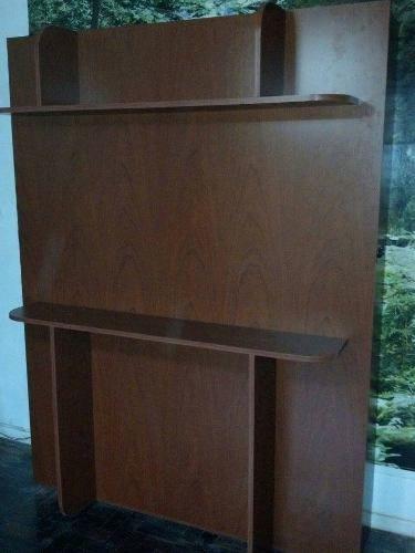 Cama Rebatible 2 Plazas Con Estantes Oferta - $ 4.600,00