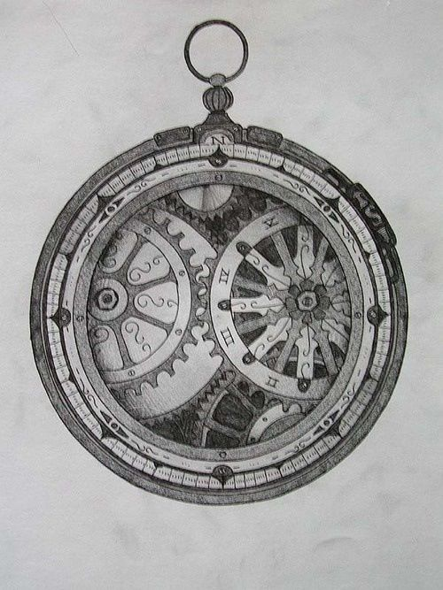Like the open face compass!
