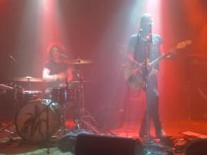 The Dandy Warhols am 26. April 2012 im Düsseldorfer zakk.