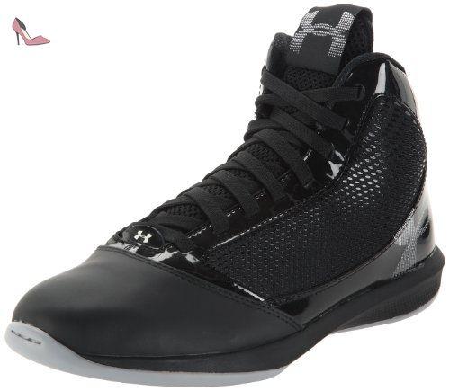 Under Armour Jet, Chaussures de basketball homme - Noir (1), 44 EU (10 US) - Chaussures under armour (*Partner-Link)