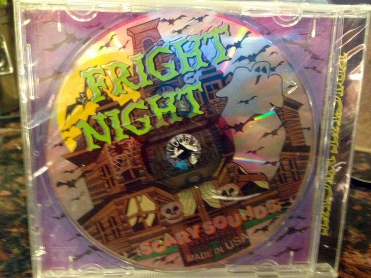 Halloween Sound Effects CD New Sealed Fright Night Scary Sounds 71 Mins  | eBay