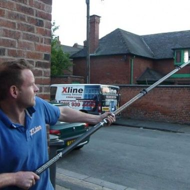 Water Fed Pole, made from Carbon Fibre, for Window Cleaning http://xline-systems.co.uk/xline-shop/water-fed-poles-accessories