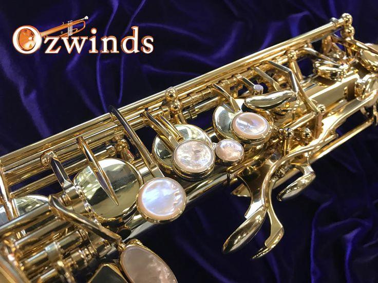 Selmer Paris Alto Saxophone Series III Jubilee with harmonic key.