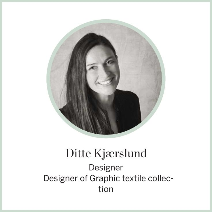 Designer Ditte Kjaerslund  Textiles graphic collection    #FLEXA #Designers #textiles #art #kids