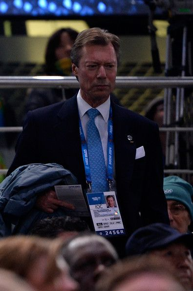 Grand Duke Henri of Luxembourg attends the Opening Ceremony of the Sochi 2014 Winter Olympics at Fisht Olympic Stadium, 07.02.14 in Sochi, Russia