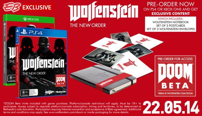 Wolfenstein: The New Order Special Edition - EB Games Australia