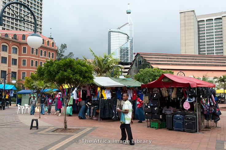 Market in Durban City