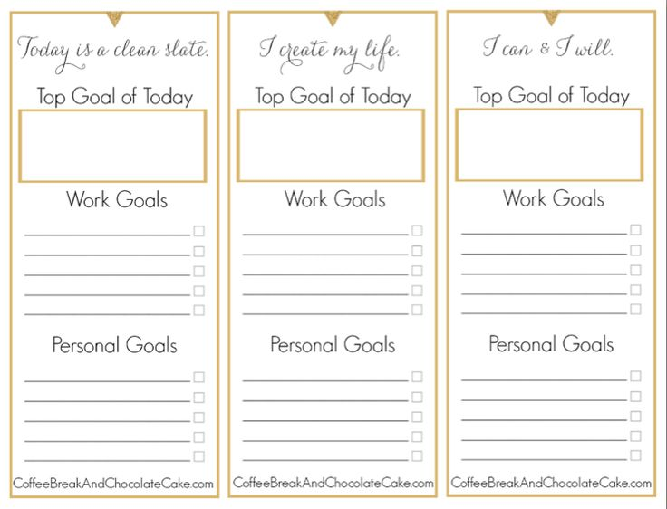 #FreePrintable Do you ever feel overwhelmed, lacking a sense of clear focus and direction? It might be because you're not structuring your days in the right way...