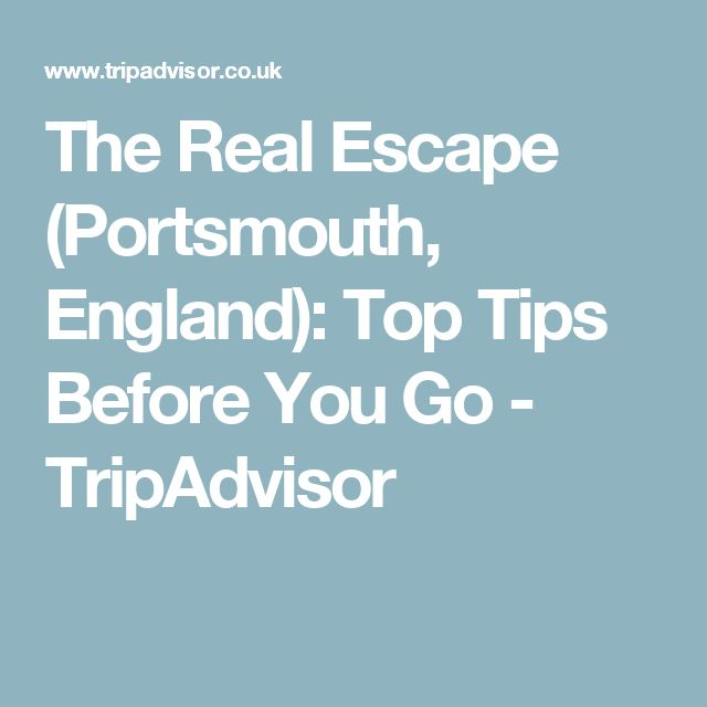 The Real Escape (Portsmouth, England): Top Tips Before You Go - TripAdvisor