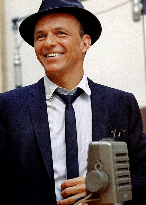 Frank Sinatra - his voice was always like nails on a chalkboard to me, I can't stand Frankie. A friend of mine knew him in the Kennedy era, and said he was one of the most evil men he'd ever met.  Fits.  Especially with the mafia.  I like Sinatra about as much as I like the Kennedys.  Which is zilch.