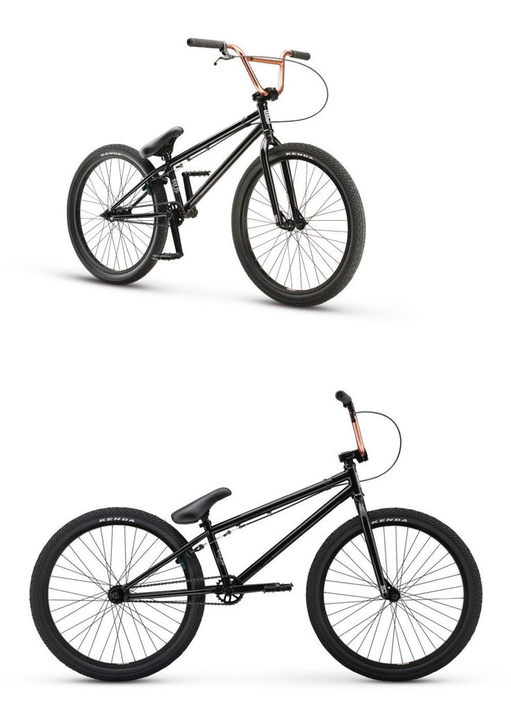 bicycles: 2017 Redline Asset 24 Bmx Freestyle Bike - New   Black Copper   Bmx Experts BUY IT NOW ONLY: $399.0