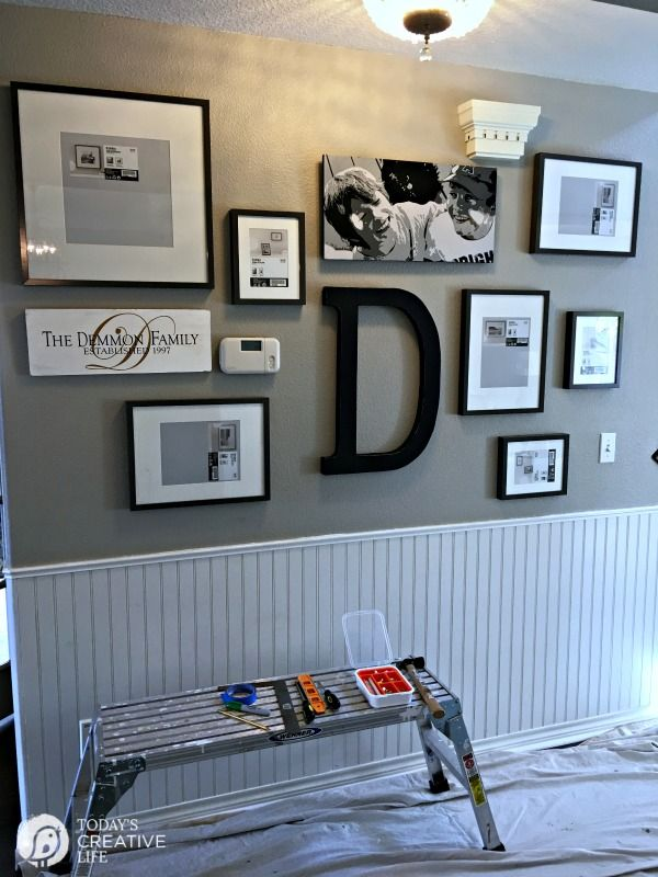17 best ideas about hanging picture frames on pinterest picture hangers picture frame. Black Bedroom Furniture Sets. Home Design Ideas