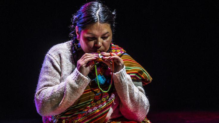 La  ocarina  es  un  instrumento  de  viento  muy  usado  en  el  Altiplano.