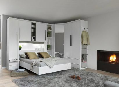 1000 id es sur le th me lits rangement int gr sur. Black Bedroom Furniture Sets. Home Design Ideas