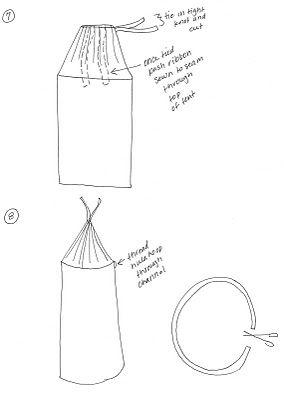 Hula Hoop Tent easy DIY